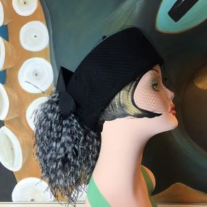 Vintage Don Anderson Pillbox Hat